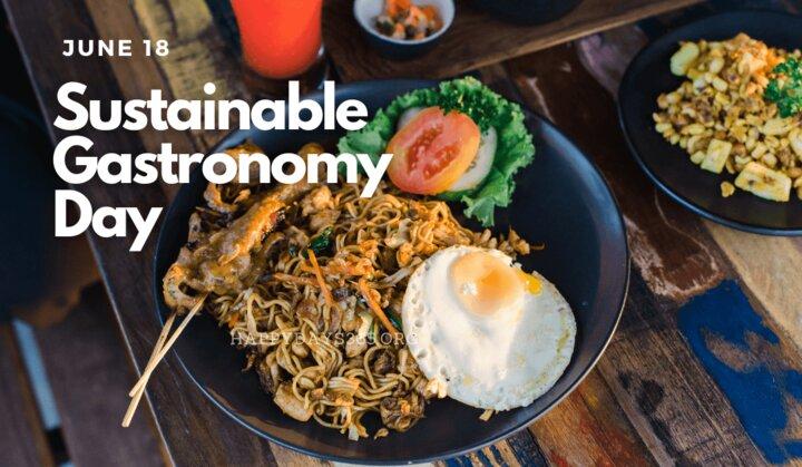 روز جهانی غذای پایدار  18 ژوئن