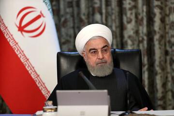 حضور حسن روحانی در ستاد انتخابات کشور برای رای دادن / فیلم