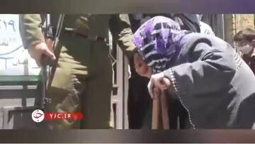 کار زیبای پیرزن تبریزی بعد از رای دادن / فیلم