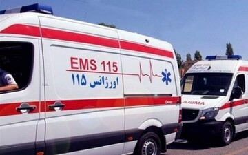 واژگونی مرگبار آمبولانس اورژانس در سیستان و بلوچستان