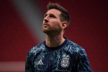 مسی به عنوان بهترین بازیکن دیدار با اروگوئه انتخاب شد