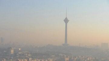 هوای تهران آلوده شد / گروههای حساس مراقب باشند