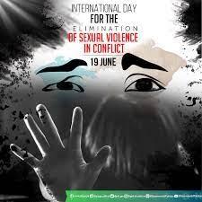 روز جهانی منع خشونت جنسی در درگیری ها  ۱۹ ژوئن