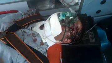 مرگ تلخ مرد تهرانی در تصادف خط ویژه / عکس