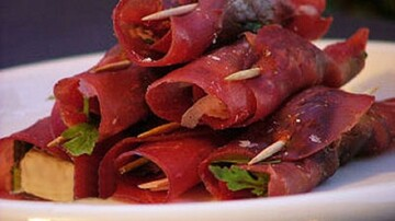 نحوه درست کردن رولت گوشت ایتالیایی