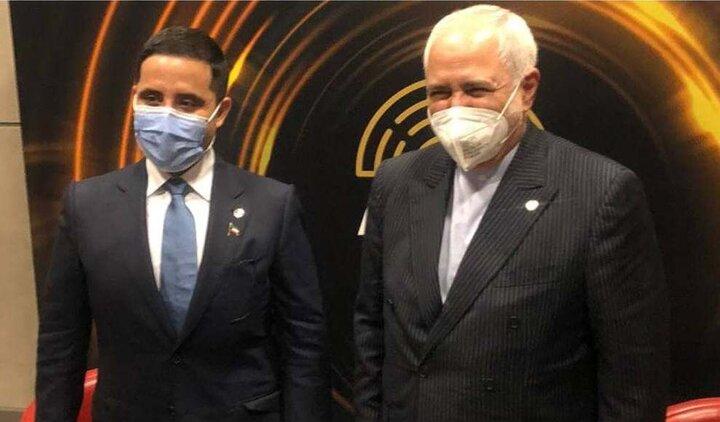 دیدار ظریف با وزیر خارجه کویت