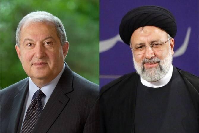رییس جمهور ارمنستان  پیروزی رئیسی را تبریک گفت