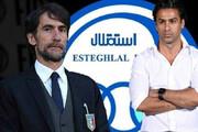 مربی ایتالیایی استقلال نیامده تهدید به شکایت کرد / فیلم