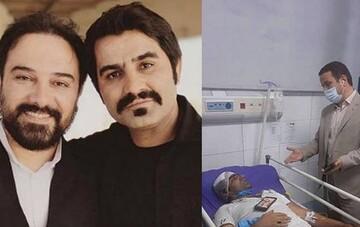 حمله خونین به دو بازیگر سریال «دودکش» / عکس