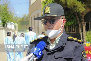 حمله یک زورگیر به پلیس در شیراز + جزئیات