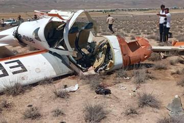 تصاویری از سقوط مرگبار هواپیما در بجنورد / فیلم