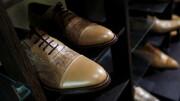 کارگاه تولیدی کفش با پوست پای مرغ / تصاویر