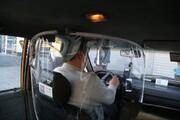 نحوه تزریق واکسن کرونا به رانندگان تاکسی