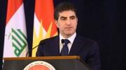 تاکید نیچروان بارزانی بر حل قطعی اختلافات با بغداد