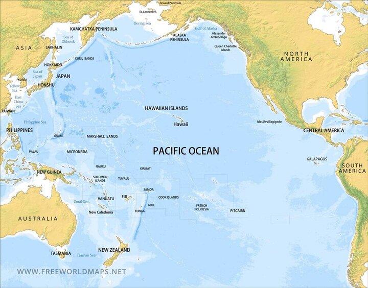 ناوگان اقیانوسیه روسیه در بخش مرکزی اقیانوس آرام رزمایش اجرا کرد