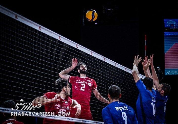 تیم ملی والیبال شانس صعود به مرحله نهایی را از دست داد /  ایران ۰- ۳ فرانسه