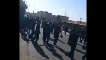 تجمع سراسری کارگران پتروشیمی در اعتراض به پایین بودن حقوقشان / فیلم