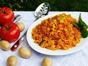 دستور پخت استانبولی پلو به روشی متفاوت | ترفندهای خوشمزهتر شدن کته گوجه