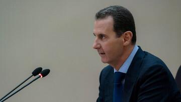 بشار اسد برای انصارالله یمن پیام فرستاد
