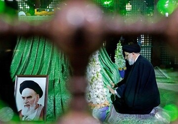تجدید میثاق رییسجمهور منتخب با آرمانهای امام راحل