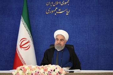 روحانی: کنار زدن مردم در انتخابات هنر نیست / فیلم