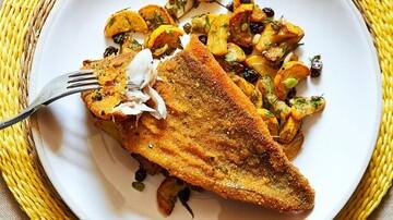 نحوه درست کردن شنیسل ماهی، غذای خوشمزه و مقوی