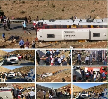 علت اصلی واژگونی خودروی خبرنگاران مشخص شد