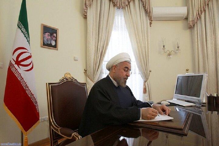 روحانی در پیامی درگذشت فرزند علیرضا محجوب را تسلیت گفت