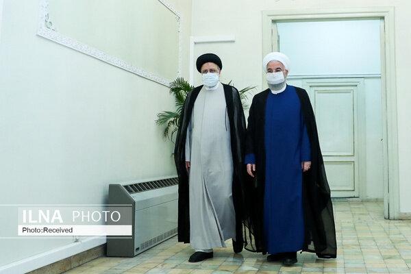 رییسجمهور منتخب به دیدار روحانی رفت