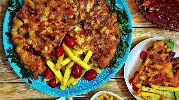 کوکو ماکارونی خوشمزه + طرز تهیه