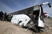 محرومیت راننده اتوبوس خبرنگاران از فعالیت رانندگی