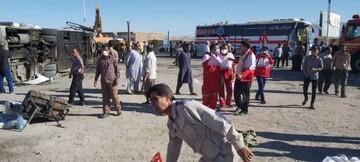 باز هم حادثه تلخ واژگونی اتوبوس / ۳۶ نفر کشته و زخمی شدند!