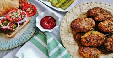 دستور پخت کتلت مرغ | چه کار کنیم کتلت خشک نشود
