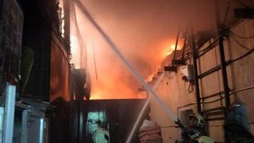 جزییات وقوع آتش سوزی در بازار تهران / خبری از آمار مصدمان نیست!