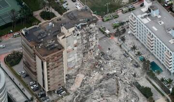 اعلام وضعیت اضطراری در پی ریزش یک ساختمان در فلوریدا