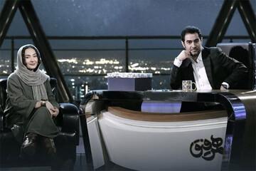 تعریف هانیه توسلی از چهره شهاب حسینی: از برد پیت خوشقیافهتری! / فیلم