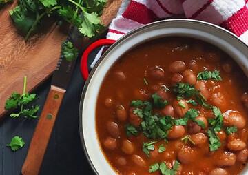 دستور پخت خوراک لوبیا چیتی؛ غذای سالم و مقوی