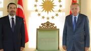 سعد حریری با اردوغان دیدار کرد