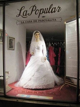جسد زن جوان به مانکن عروس تبدیل شد!  / عکس
