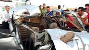 ۳ مرد خارجی در جاده دیواندره - سقز جان باختند / عکس