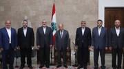 اسماعیل هنیه با رییسجمهور لبنان دیدار کرد