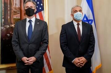 دیدار لاپید با وزرای خارجه آمریکا و بحرین