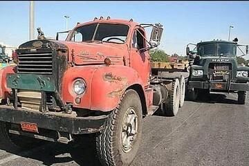 ۲۰۰ هزار کامیون فرسوده در کشور تردد دارند