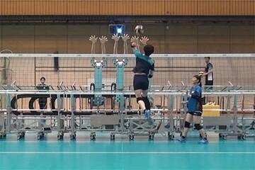 ساخت رباتهای والیبالیست ژاپنی / فیلم