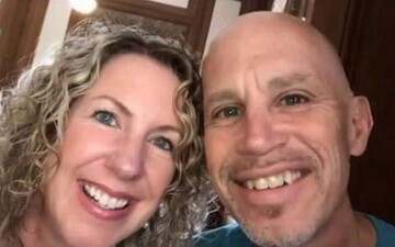 ازدواج دوباره مرد مبتلا به آلزایمر با همسرش / عکس