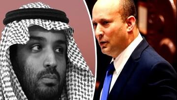 درخواست بن سلمان از نخست وزیر رژیم صهیونیستی برای مقابله شدیدتر با ایران