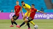 گل به خودی عجیب بازیکنان اسپانیا از وسط زمین در یورو ۲۰۲۰ / فیلم