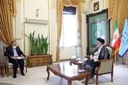 دیدار وزیر صمت با رییسجمهور منتخب