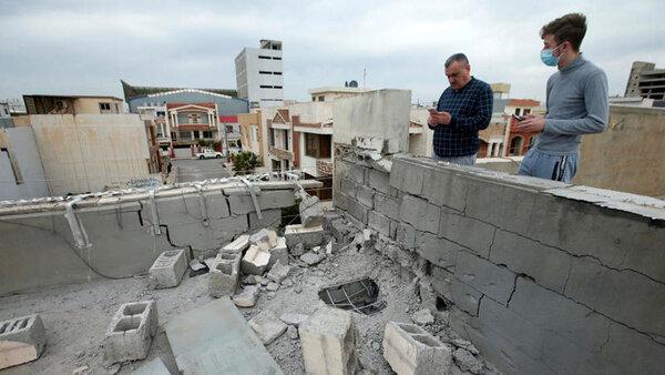 مقر موساد در اربیل هدف قرار گرفت