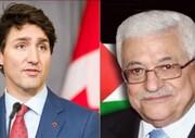 محمود عباس با نخستوزیر کانادا تلفنی گفتگو کرد